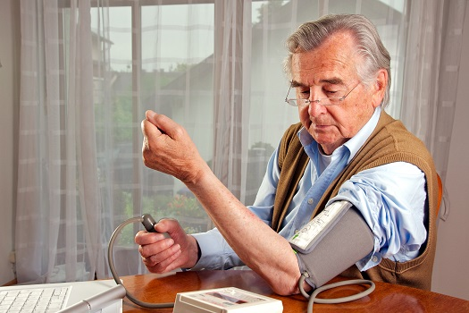blood pressure test at home with australian male adult_senior choices online